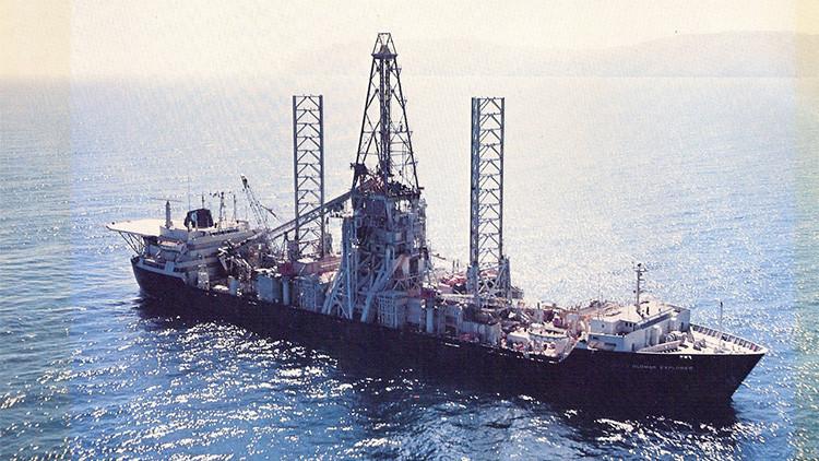 El barco más famoso de la CIA pone rumbo al desguace