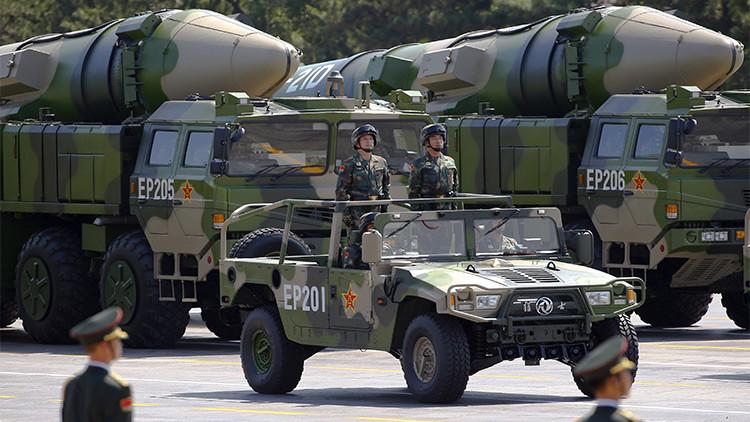 Las armas secretas que China dejó entrever durante su gran desfile militar