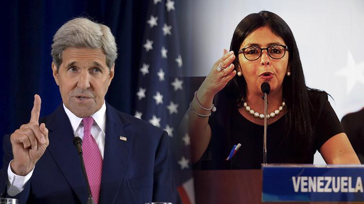 """El secretario de Estado de EE.UU. llama a la canciller venezolana para """"regularizar las relaciones"""""""