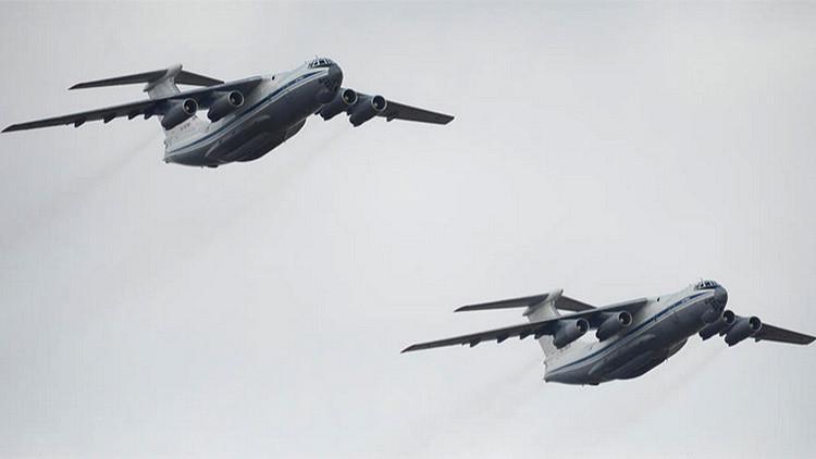Grecia e Irán abren su espacio aéreo a los aviones rusos con ayuda humanitaria a Siria