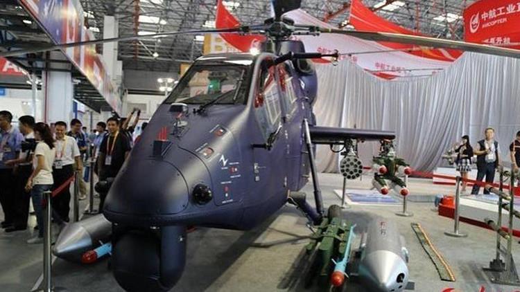 China desvela su helicóptero de ataque Z-19E: ligero, pero mortal