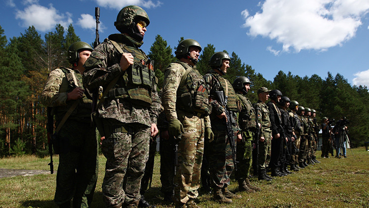 Las tropas Spetsnaz rusas  todo sobre la élite militar del país - RT 1f64d31715c