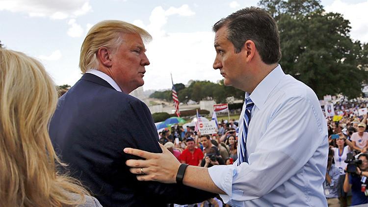"""Donald Trump, Ted Cruz y Sarah Palin hacen frente común contra la """"estúpida"""" Casa Blanca e Irán"""