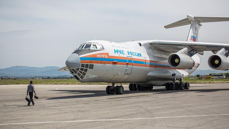 Ucrania cierra su espacio aéreo a los aviones rusos con destino a Siria