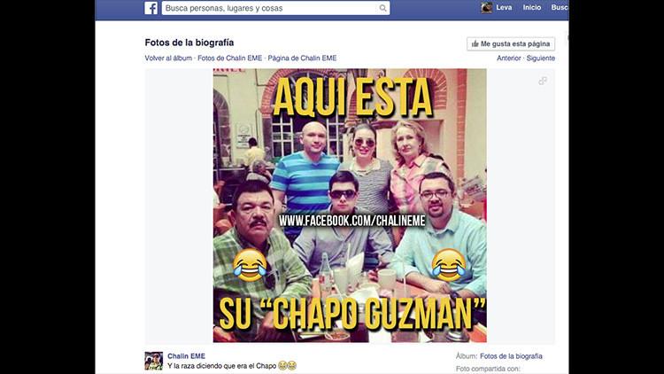 Una nueva foto en las redes sociales pone en duda la veracidad del paradero de 'El Chapo'