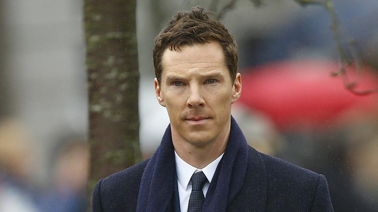 El actor británico Benedict Cumberbatch ayuda a los refugiados con este video