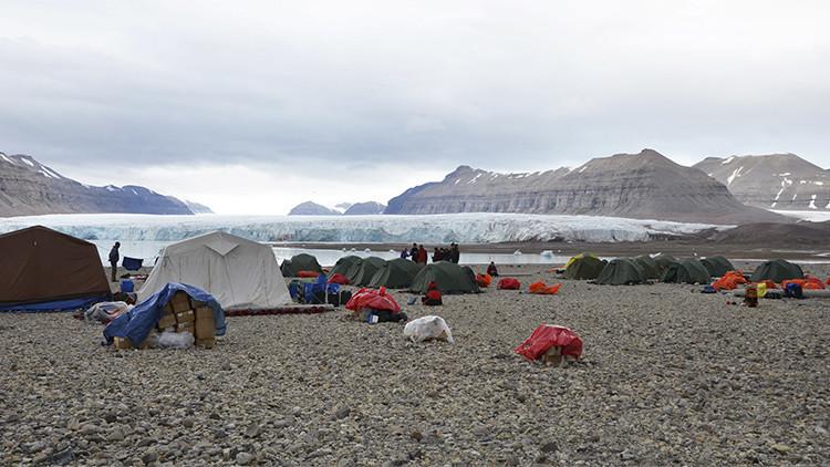 Los verdes de Noruega proponen acoger a los inmigrantes sirios a orillas de Polo Norte