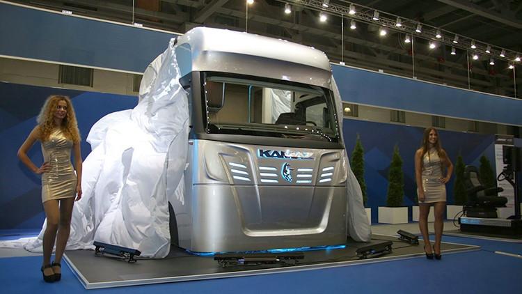 Video: KAMAZ presenta la revolucionaria cabina de camión 'Transformer'