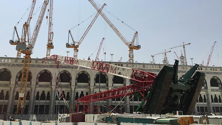 ¿Qué tiene que ver la familia Bin Laden con la grúa que cayó en La Meca?