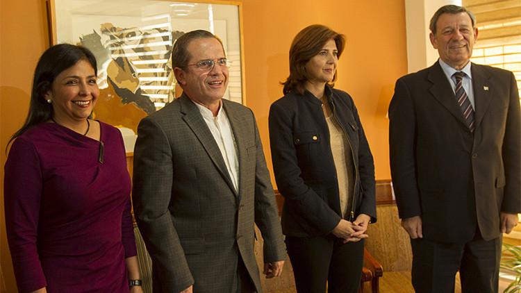 Tensión fronteriza: Las cancilleres de Colombia y Venezuela consultarán avances con los presidentes