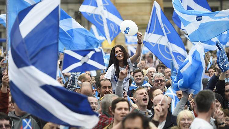 El Partido Nacional Escocés estudia convocar otro referéndum de independencia para que gane el 'Sí'