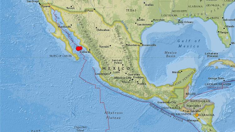 Un terremoto de magnitud 6,6 sacude México