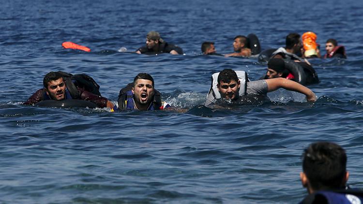Al menos 28 personas mueren en un naufragio en las aguas de Grecia