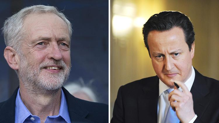 """Cameron arremete contra el nuevo lider laborista: """"Es una amenaza para la seguridad nacional"""""""
