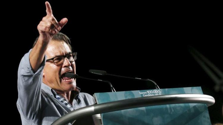 """Artur Mas: """"Si los países de la UE no ratifican la entrada de Cataluña, será un problema"""""""