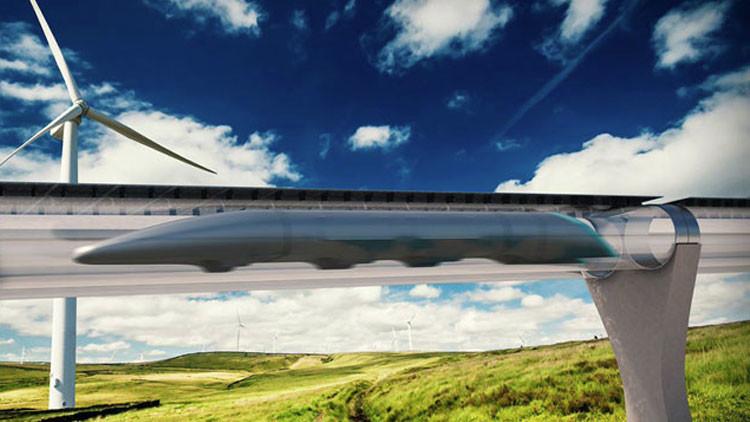 Una compañía de EE.UU. presenta un tren que podrá viajar a 1.200 km/h