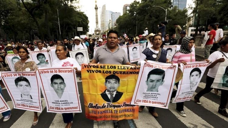 CIDH: Los 43 normalistas de Iguala fueron masacrados por robar un bus con heroína