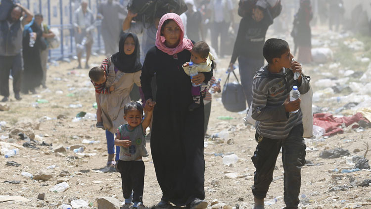 Infografía de la ONU: ¿De dónde vienen y a dónde van los refugiados?