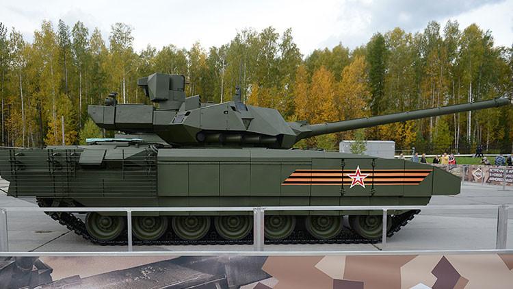 Posible duelo entre Leopard y Armata visto por analistas de EE.UU.