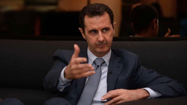 """Al Assad: """"Occidente llora por los refugiados con un ojo y con el otro les apunta la pistola"""""""