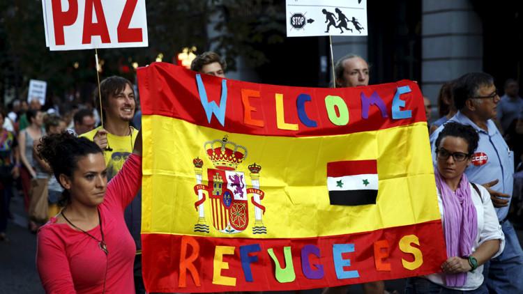 Sirio vive con su familia en España