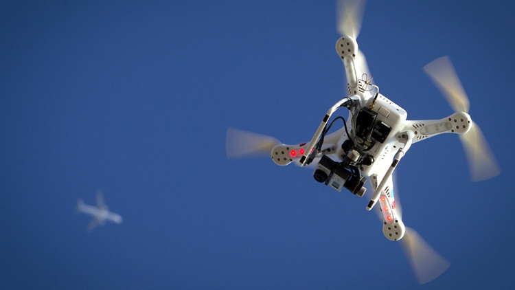 """""""Si usted planea asistir a los actos de la visita papal, por favor deje su dron en casa"""""""