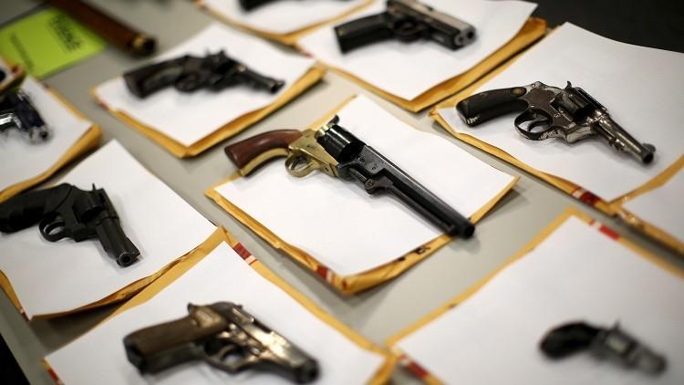 Más norteamericanos han muerto por armas personales que en todas las guerras en la historia de EE.UU