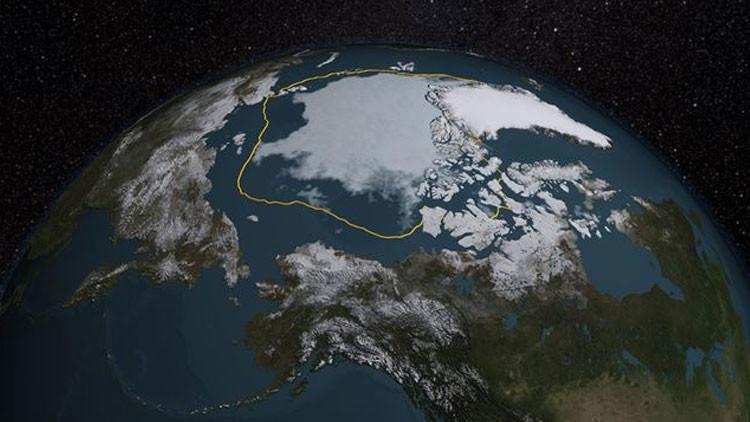 Pánico entre los científicos: el hielo del Ártico se derrite a velocidad récord (Video)