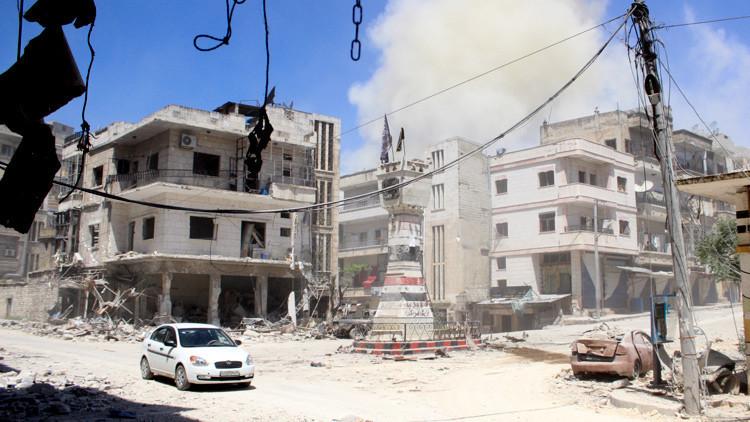 Un video interactivo permite apreciar las ruinas de una ciudad del noroeste de Siria
