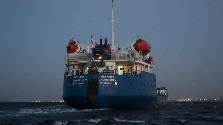 El Gobierno autoproclamado de Libia captura un petrolero ruso