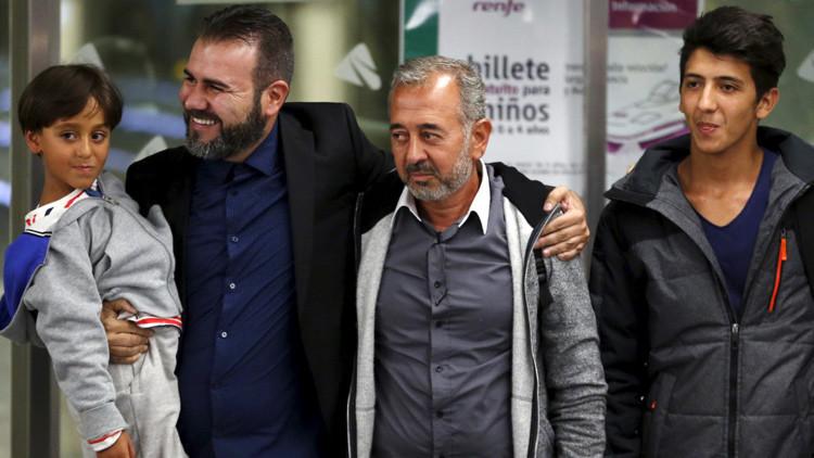 El refugiado Osama está feliz por su nueva vida en Madrid y reclama justicia
