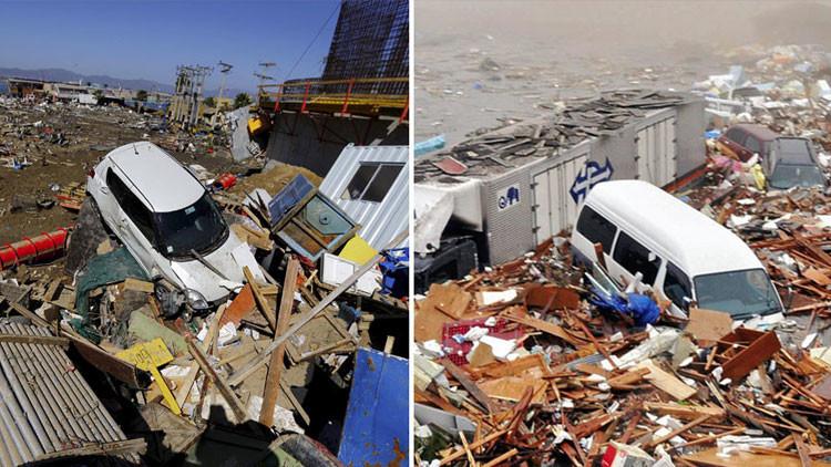 Como Japón en 2011, con barcos en la calle: fotos aéreas muestran la devastación del sismo en Chile