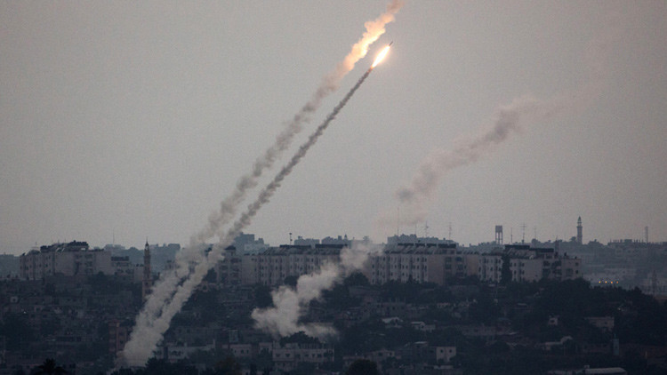 Lanzan misiles a Israel desde la Franja de Gaza (video)