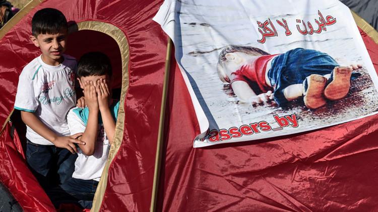 Otro naufragio trágico: una nena siria de cuatro años murió en la costa de Turquía