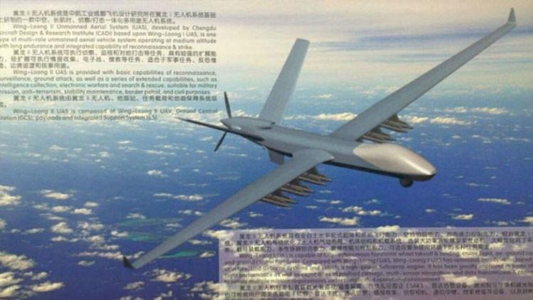 China revela su nuevo dron de combate supermoderno (Fotos)