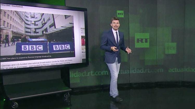 Ciegos ante la viga en el ojo propio: La BBC acusa a RT de supuesta parcialidad con datos falsos