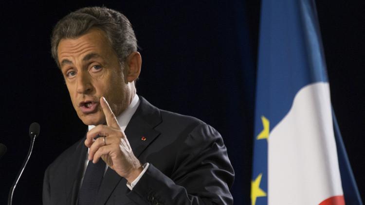 """Sarkozy: """"Siria podría ser liberada del EI en unos meses con la ayuda de Rusia"""""""