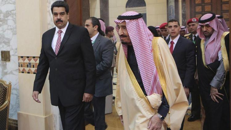 Maduro recurre al diálogo directo con el rey saudita para estabilizar el precio de crudo
