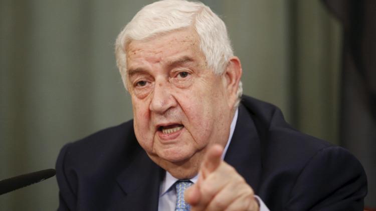 """Canciller sirio a RT: """"Los ataques aéreos al EI son ineficaces si falta coordinación"""""""