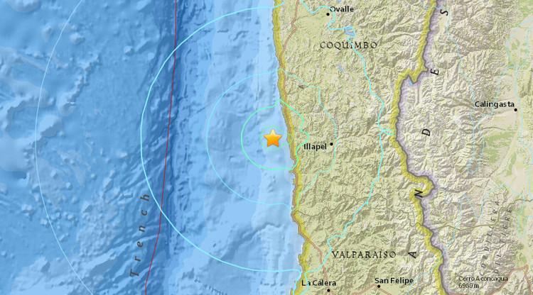 Un terremoto de magnitud 6,3 sacude Chile