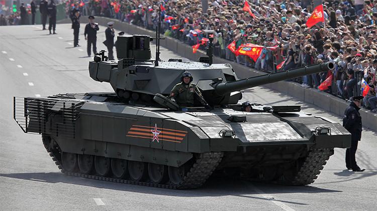 Revelan el precio del Armata T-14, el carro de combate ruso más avanzado