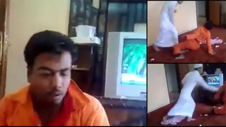 Un video brutal de un ingeniero saudí golpeando a un trabajador se vuelve viral