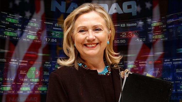 Un tuit de Hillary Clinton derrumba las acciones de las empresas farmacéuticas