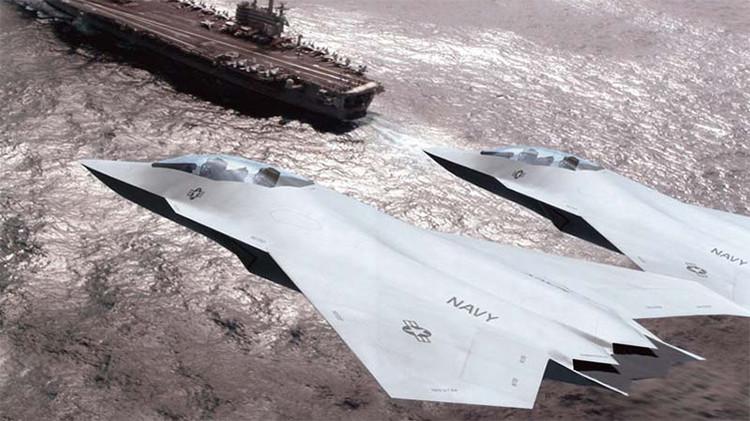 ¿Cuándo aterrizará el caza de sexta generación F/A-XX en los portaviones de EE.UU.?