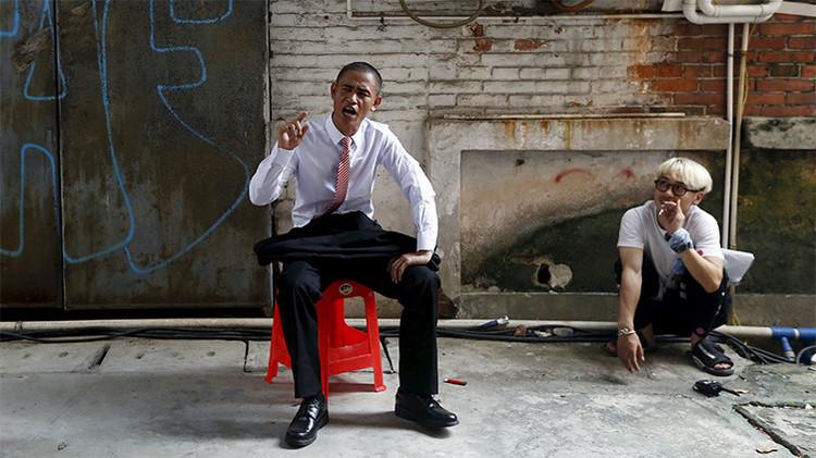 Un chino se convierte en ídolo por imitar a Barack Obama