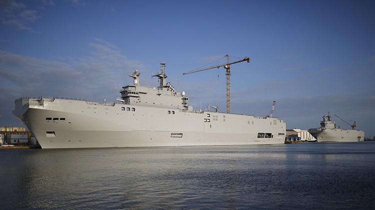 Egipto compra los buques Mistral construidos originalmente por Francia para Rusia