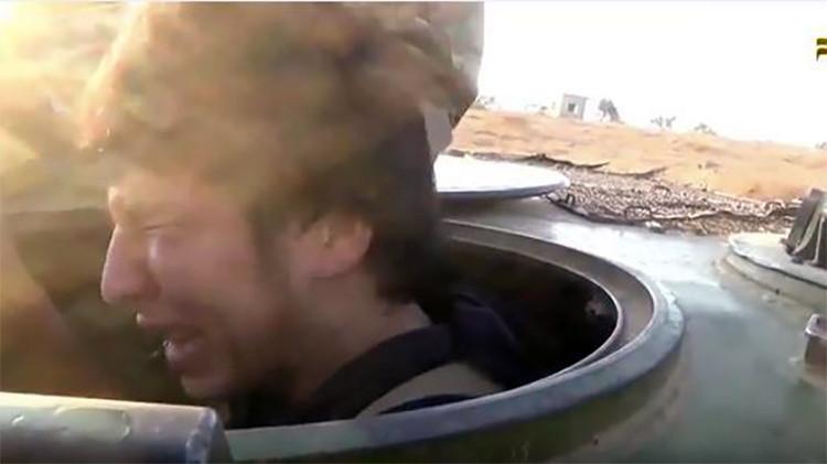 Video: un yihadista suicida llora de miedo momentos antes de su ataque mortal