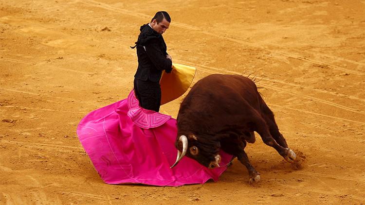 ¿Arte o crueldad?: dejan parapléjico a un toro en plena corrida