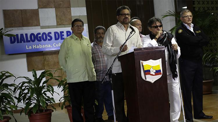 Suspenden 50 imputaciones a los líderes de las FARC tras el acuerdo con el gobierno colombiano