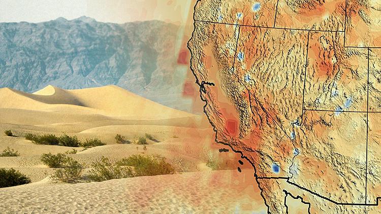 EE.UU. se seca: Imágenes satélites revelan la catastrófica situación en California